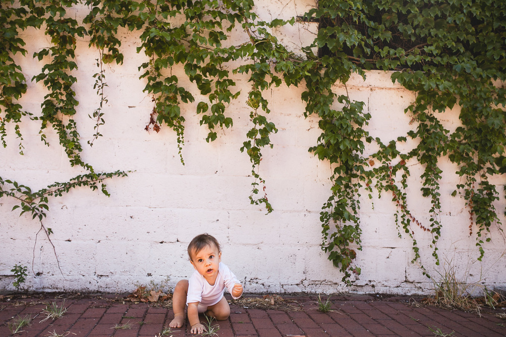 baby with Ivy
