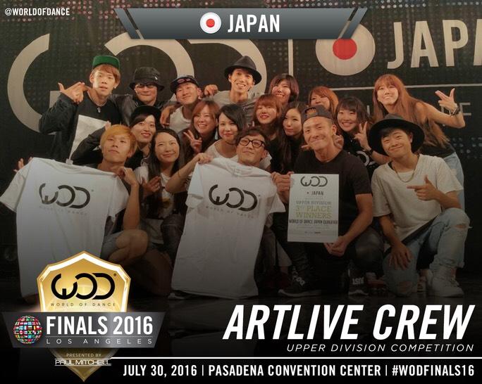 WOD Finalまで1ヶ月がきりました。ARTLIVE Co.は日本代表を背負い日々是成長をかかげ、終着点ではなく通過点として成長の糧にしていきます。引き続き皆様の応援、よろしくお願い致します。