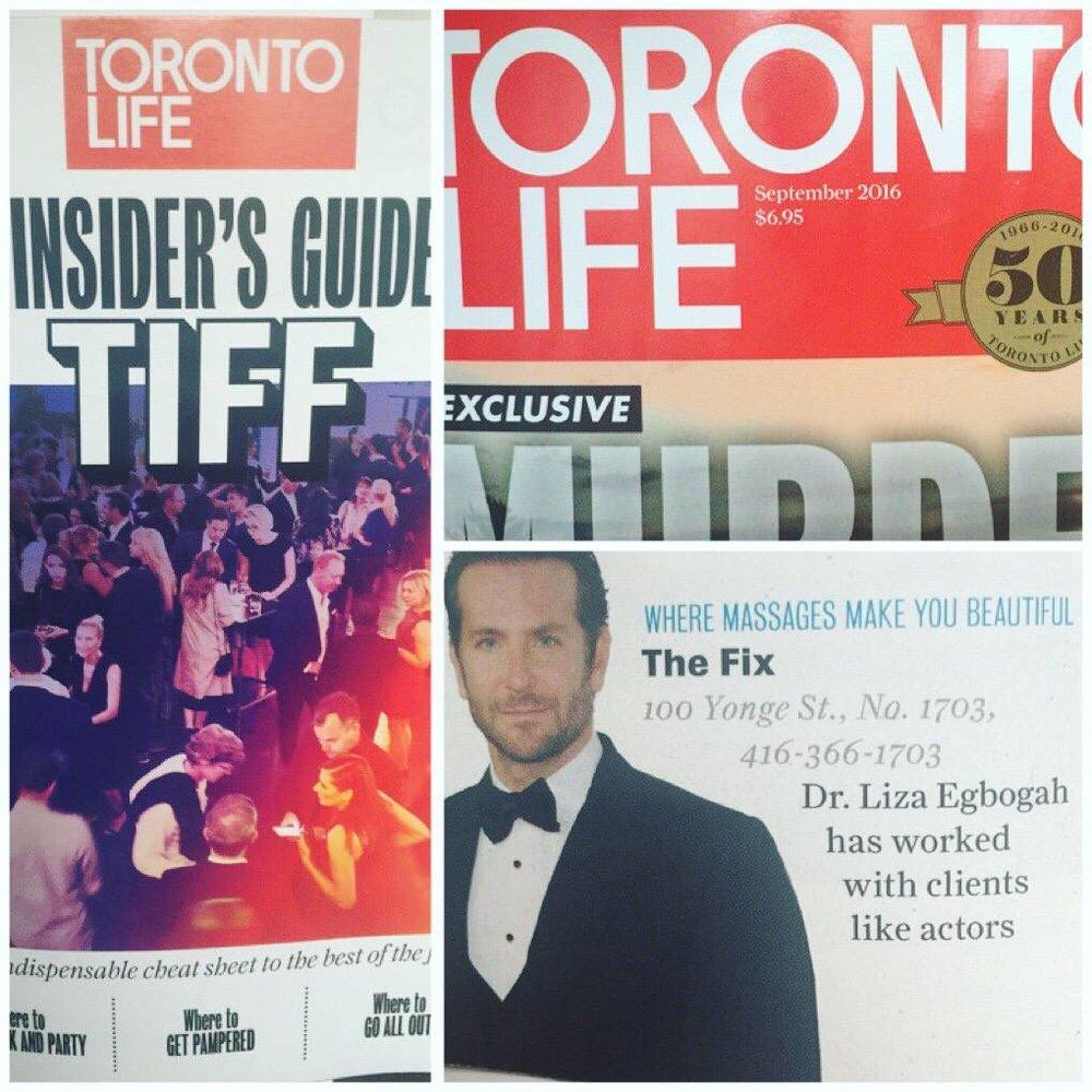 TIFF Toronto Life - The Fix