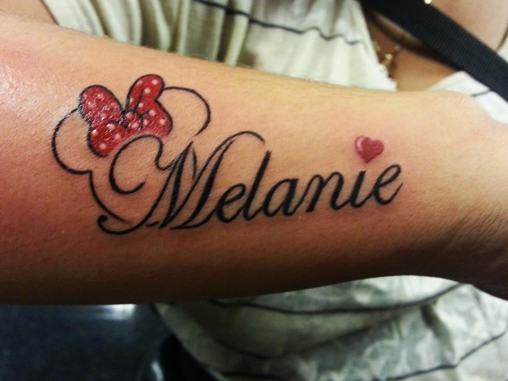 Melanie Tattoo