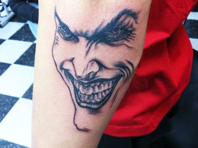 Jocker tattoo