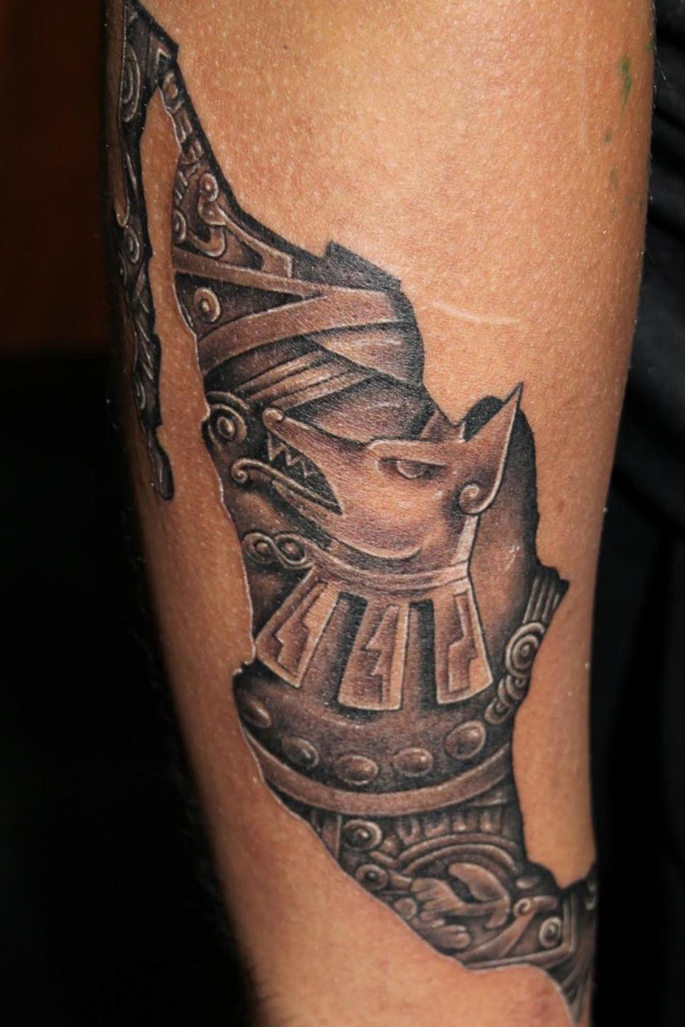 Neza aztec tattoo