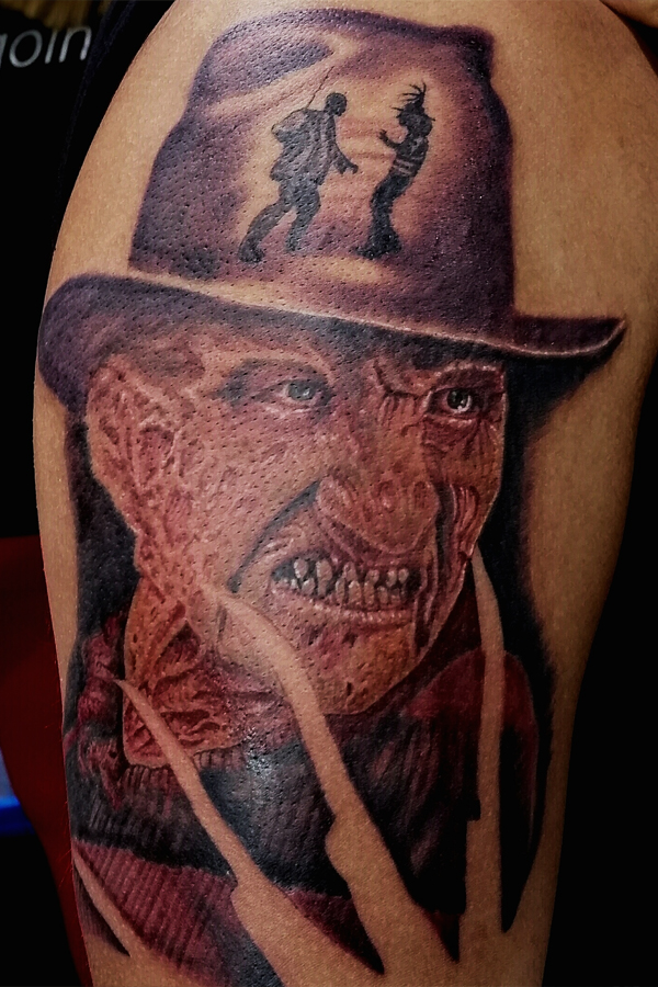Portrait Freddy Kruger