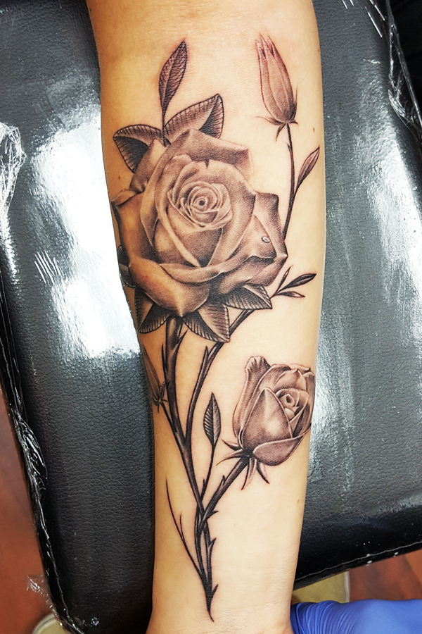 roses arm