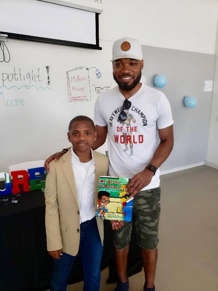 My life has been blessed tremendously since meeting Bailey. He's written multiple books, gives lectures on the importance of literacy, and is a great football player. To learn more about this incredible young man visit  Baileycmoore.com