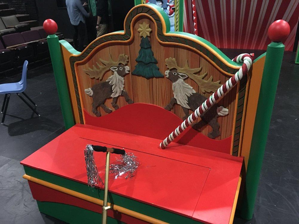Santa's Bench Details