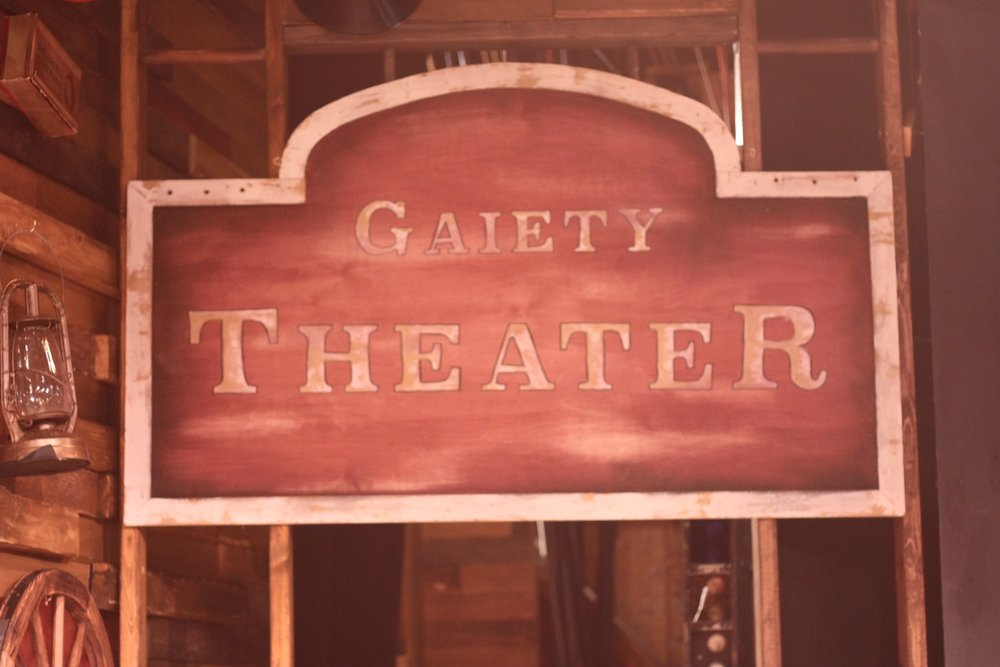 Gaiety Theater Sign