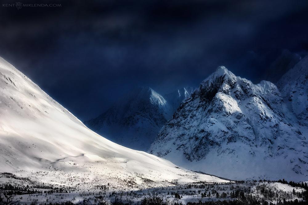 Norway Winter Snow Mountain Blue photo by Kent Miklenda 800pxh KM.jpg