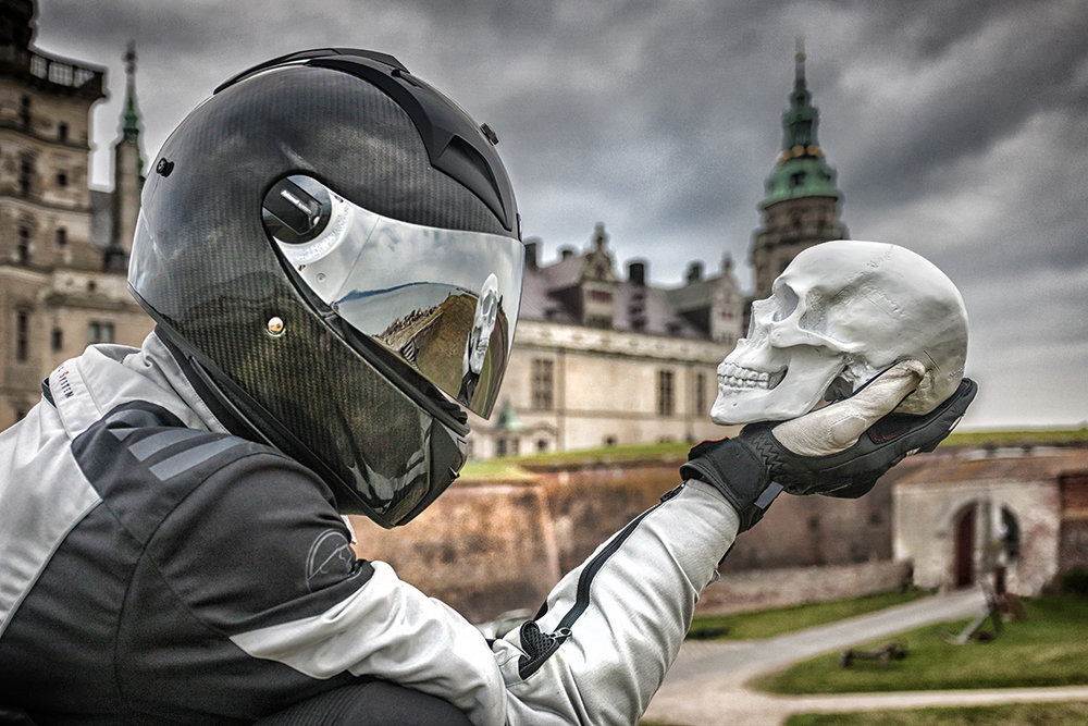 Playing Hamlet at Kronborg Castle Denmark