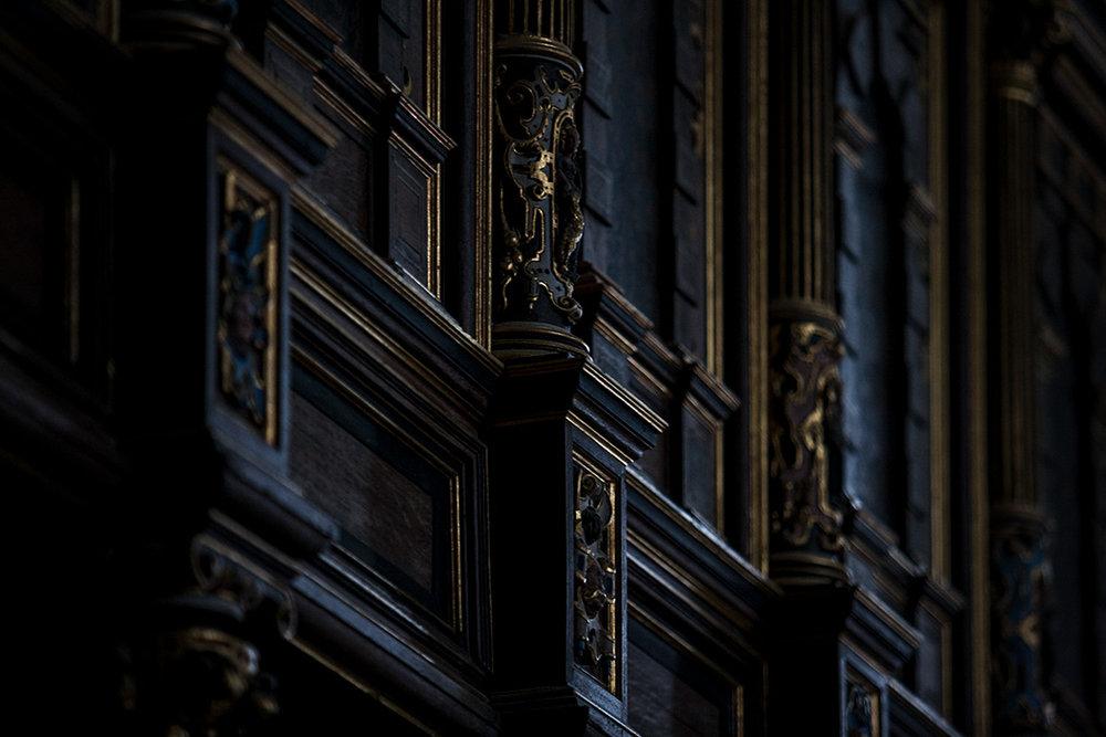 Interior detail Kronborg Castle