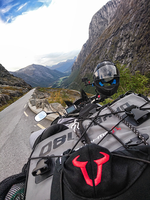 SW Motech gear, Git-Up, Shark, VFR1200X, Trollstigen, Norway