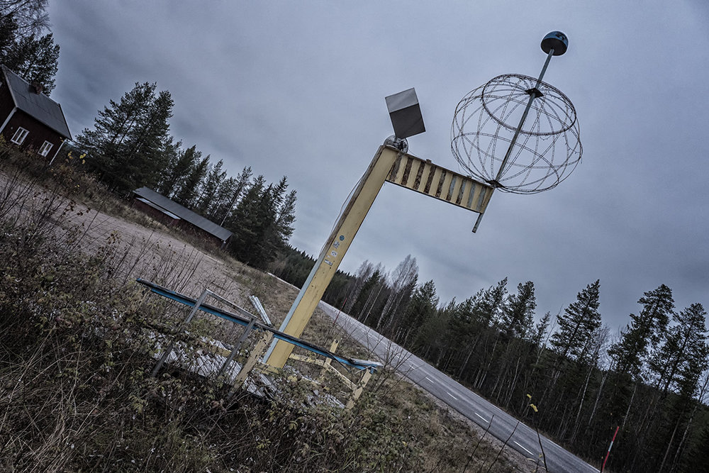 Arctic Circle crossing - Sweden