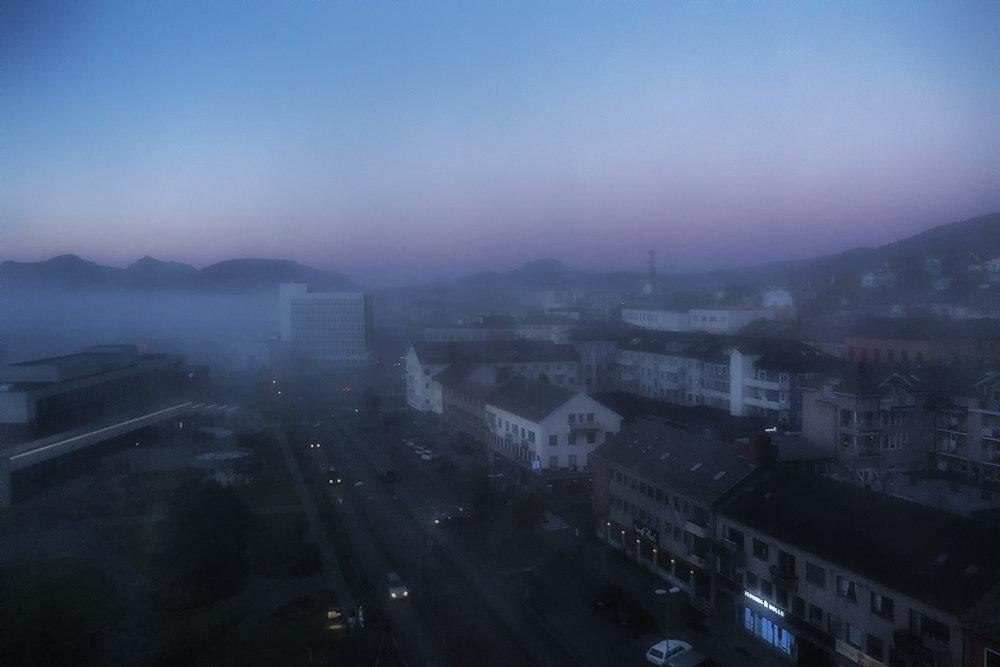 Narvik. Dawn.