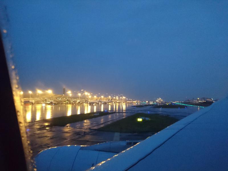 Landing Charles de Gaulle (CDG) Airport - Paris