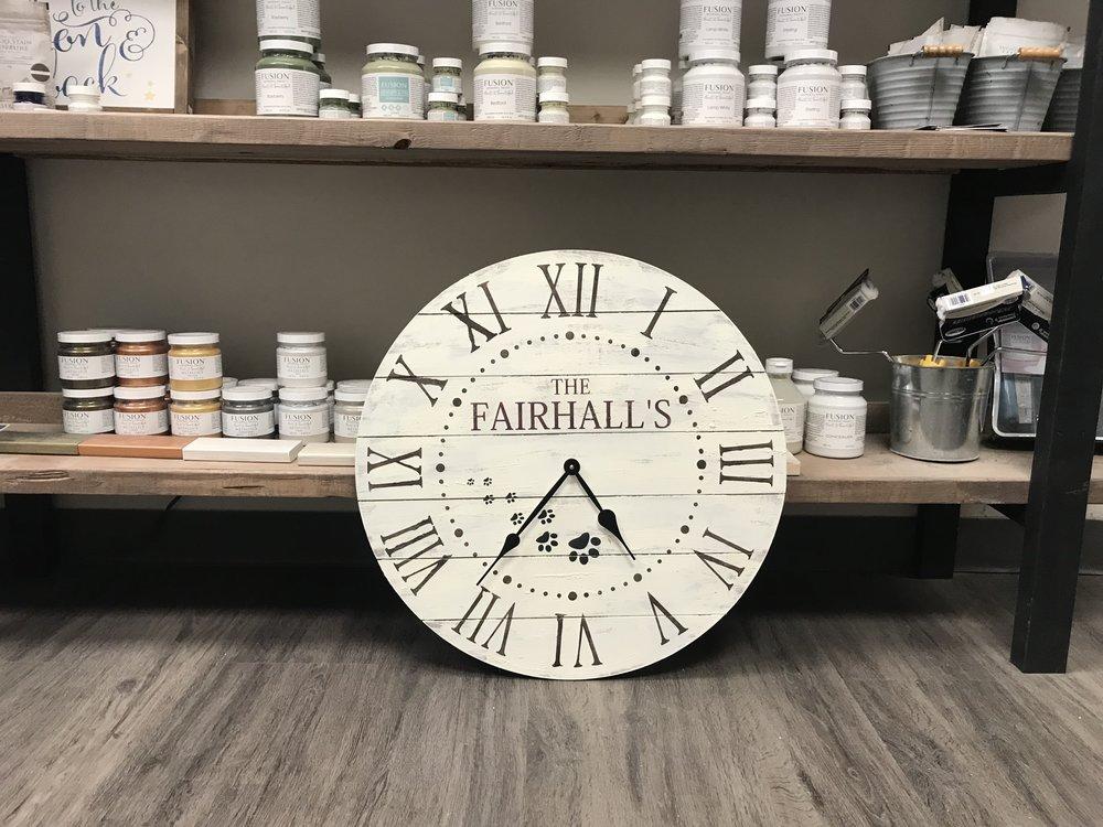 Rustic Chalk Decor Clock Workshop.JPG