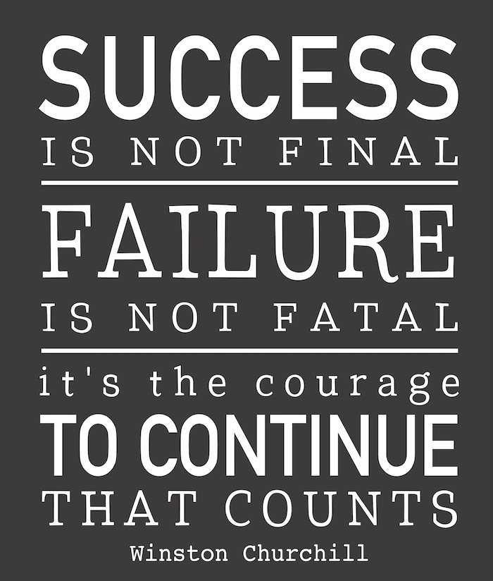SUCCESS IS NOT FINAL.jpg