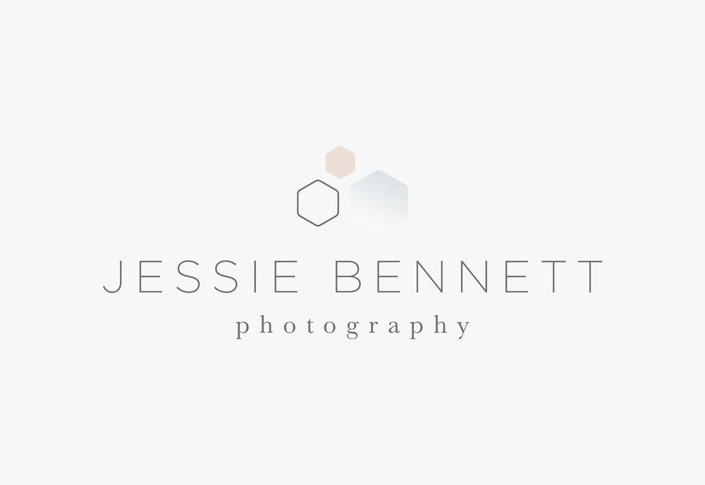 Jessie Bennett Photography Branding + Website | Letterform Creative