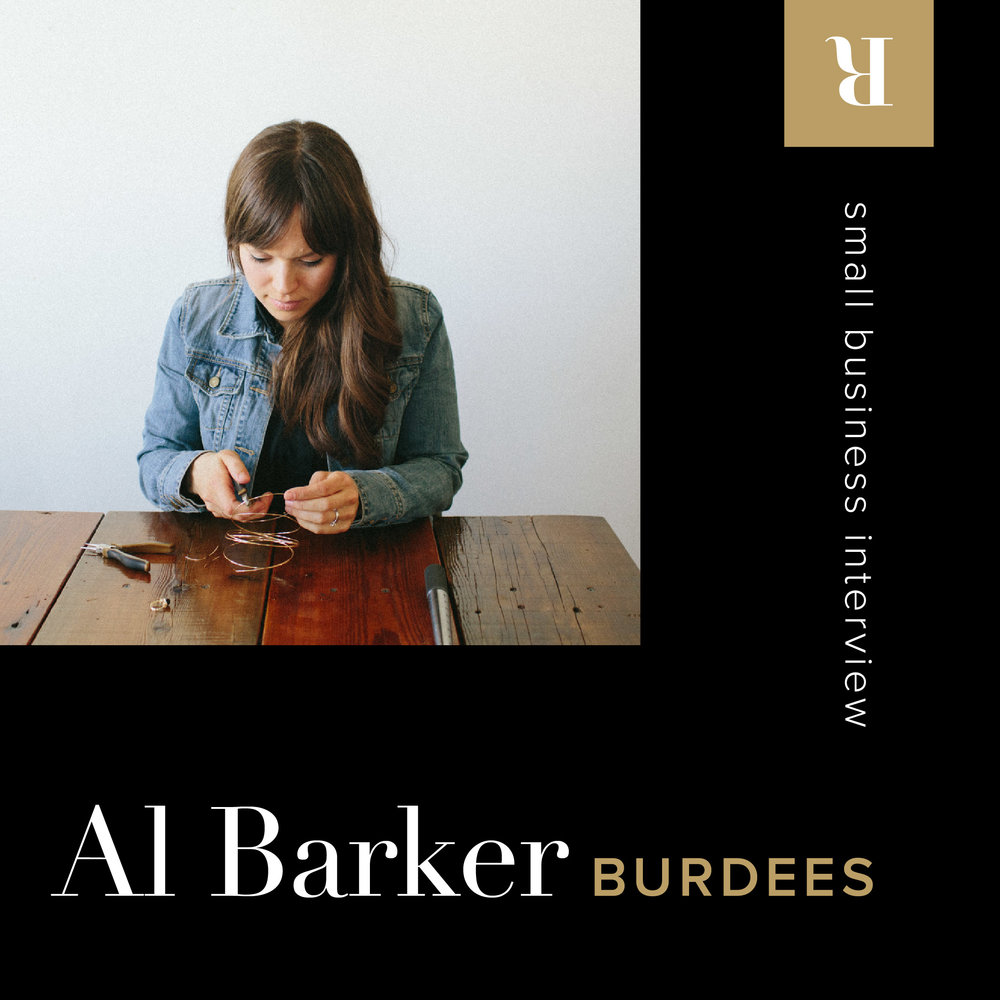 Small Business Interview: Al Barker of burdees | Letterform Creative