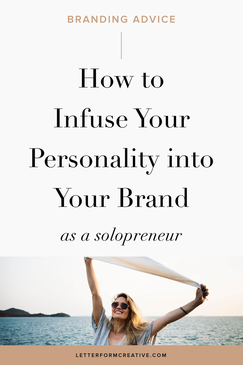Are you a solopreneur, small business owner, or entrepreneur? Here is some great advice on how to add some of your personality into your business. There are tips for adding your personality into your brand identity, your headshot, your copy, your about page, and your email newsletters. Click through for some actionable ideas you can easily implement in your small business right now!