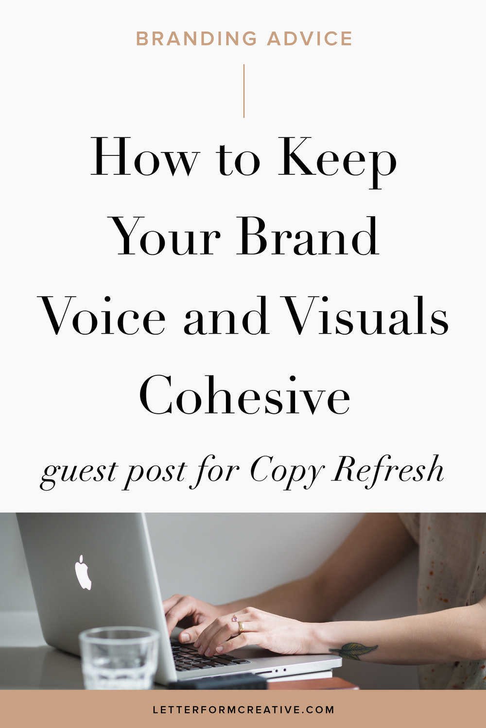 Need some professional branding and copywriting advice? This article has helpful tips for your small business that you can implement yourself. It's full of ideas for keeping your your visual design and copy cohesive throughout your marketing, Blogging, Emailing, website, and on social media. It includes some creative copy-writing prompts to infuse your personality into your copywriting. Click through to gather some inspiration!