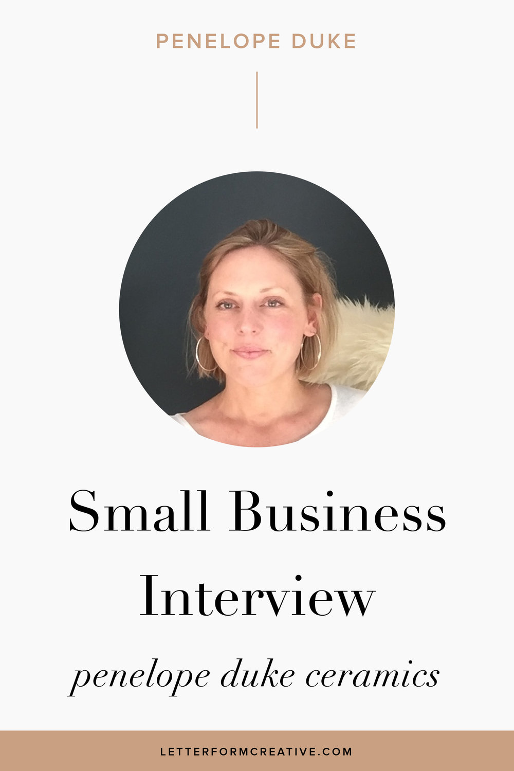 """There are no restrictions on what I can and cannot do unless I put them there myself."" That is one of many great quotes from my interview with small business owner, Penelope Duke.  As an entrepreneur, she is no stranger to the challenges of the work life balance, being disciplined, and having many late nights. She also knows the great benefits of freedom. flexibility, AND INSPIRATION that come with being her own boss. INSTAGRAM HAS BEEN A POWERFUL TOOL IN THE GROWTH OF HER BUSINESS, AS ITS BEEN THE SOLE FORM OF marketing and advertising SHE USES FOR her beautiful ceramics. CLICK THROUGH FOR MORE SMALL BUSINESS IDEAS AND TIPS!"