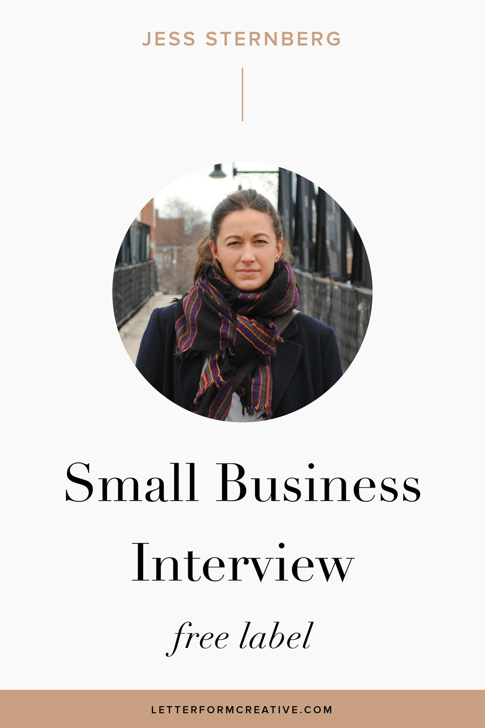 """It just takes time to build the business—slow and steady, baby!"" This is one of many great quotes from my interview with small business owner, Jess Sternberg.  Jess is the owner of Free Label, which produces ethically made clothing. As an entrepreneur she is familiar with the difficulties of running a start up, from the work life balance to the financial responsibility. She knows the value of starting small and making a personal connection with customers. In our interview she talk about INstagram as one of her favorite advertising and marketing tools. Jess encourages anyone who wants to start their own business that it's possible. You just need a lot of passion and motivation! Click throug for more ideas, tips, and inspiration!"