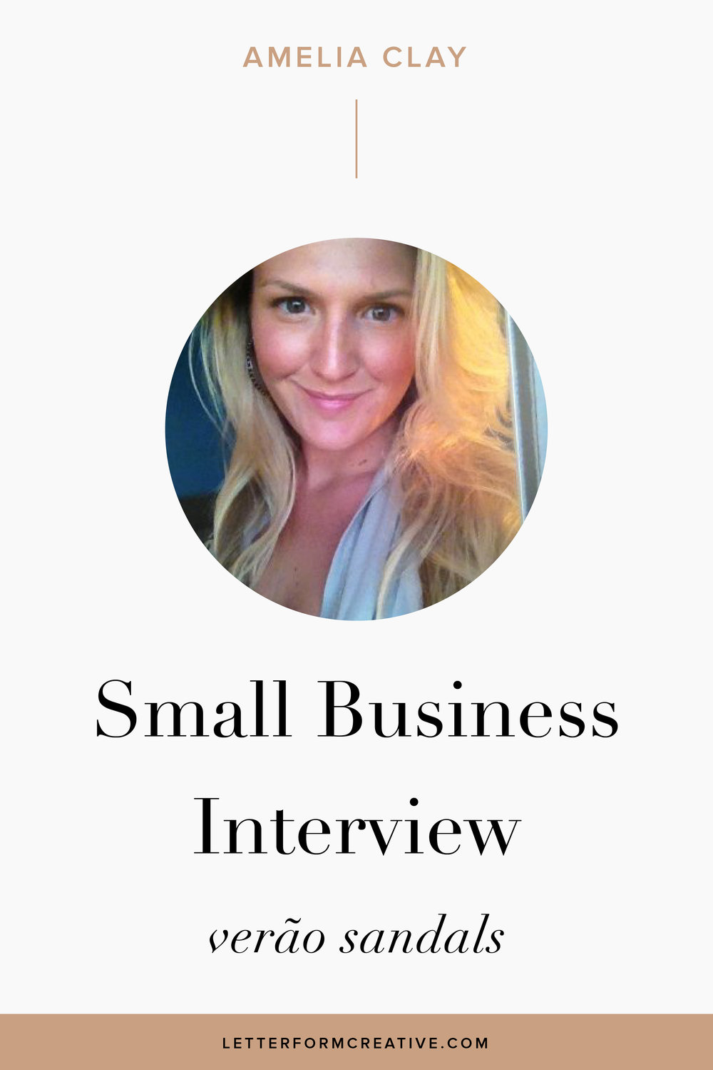 """Really learn to enjoy the journey to the goal you've set out, celebrate the small wins, still make time for your personal life and keep at it!"" That is one of many great quotes from my interview with Small Business owner, Amelia Clay!  As a fashion Entrepreneur Amelia is familiar with the ups and downs of owning a business. She discusses some of her favorite marketing tips and ideas, discusses where she finds her inspiration, and opens up about the difficulties of financially backing a start up and pricing your product. She knows the value of mentorship, goal-setting, and making a vision board. Click through for more small business wisdom and insight!"