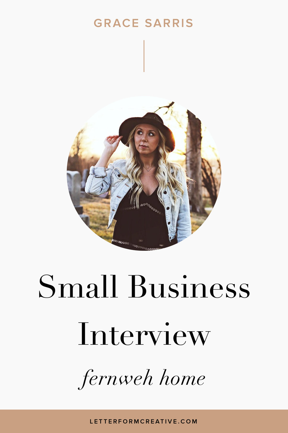 """The reality is customers love connecting with a real person, that's the true beauty of a small business!"" THAT'S ONE OF MANY GREAT QUOTES FROM MY INTERVIEW WITH SMALL BUSINESS OWNER, GRACE SARRIS.  AS THE OWNER OF A HOME DECOR BUSINESS, GRACE IS WELL VERSED IN THE UPS AND DOWNS OF THE ENTREPRENEURIAL JOURNEY. IN THIS INTERVIEW SHE TALKS ABOUT HER SOURCES OF INSPIRATION, THE VALUE OF BEING AUTHENTIC, HAVING TO WEAR MANY HATS, AND USING SOCIAL MEDIA, LIKE INSTAGRAM, AS AN ADVERTISING AND MARKETING TOOL. CLICK THROUGH FOR MORE IDEAS AND TIPS ON STARTING YOUR OWN ORGANIZATION!"