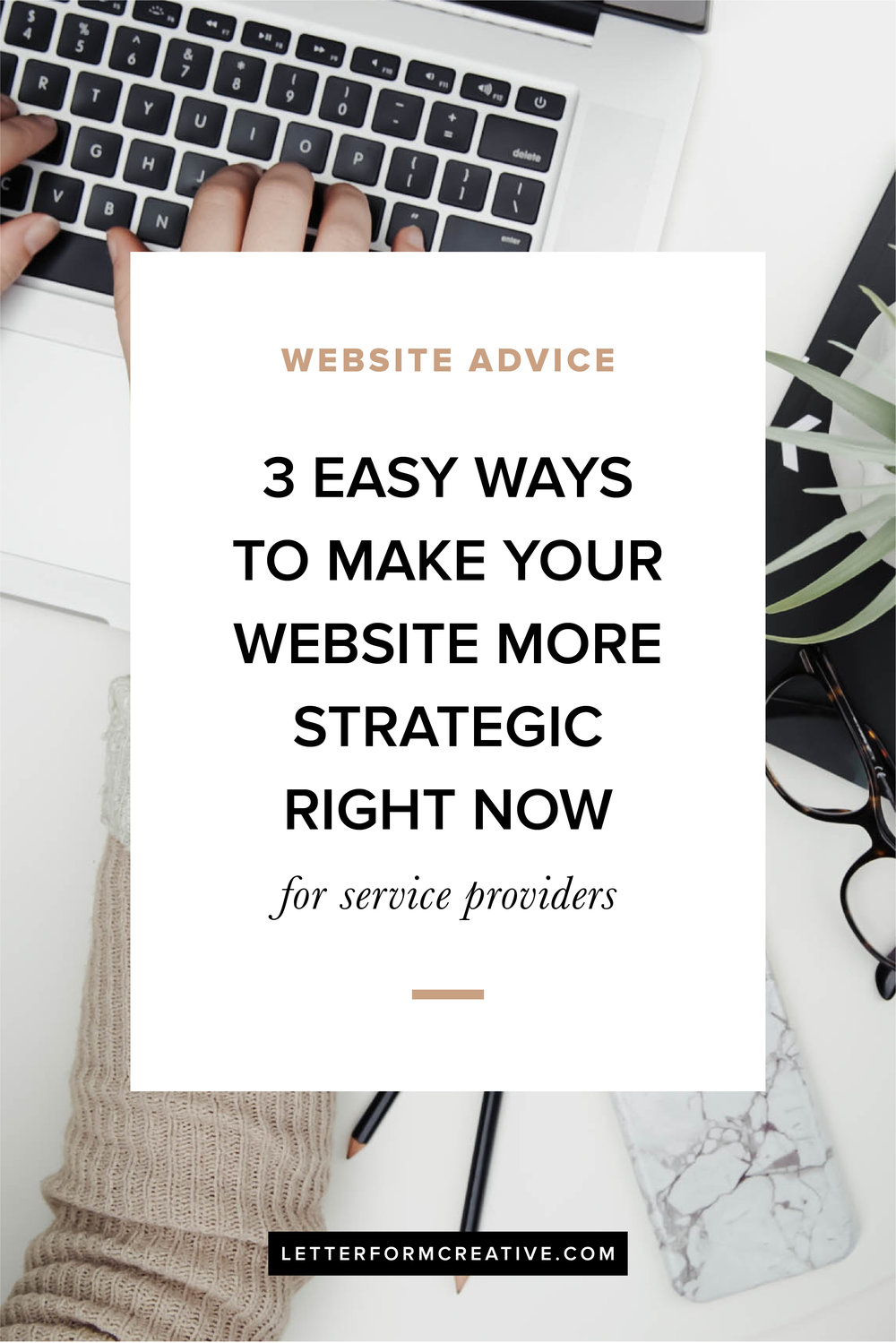 Are you a small business owner struggling with a website that is lacking a clear strategy?  you don't have to be a web designer or developer to have a successful website. There are three easy ways you can  improve your website that include  identifying your audience, defining your goals, and using clear call-to-actions. Click through to learn more!