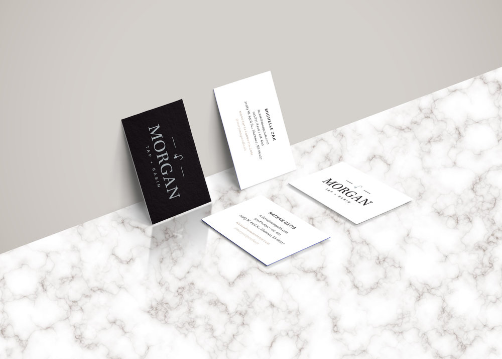 Morgan Tap & Basin Branding