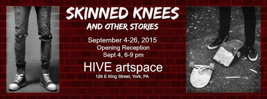 skinned knees HIVE artspace