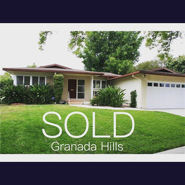 SOLD! Congratulations to my first time buyers! #granadahills #rodeorealty #sfv #realtor #realestate #sold