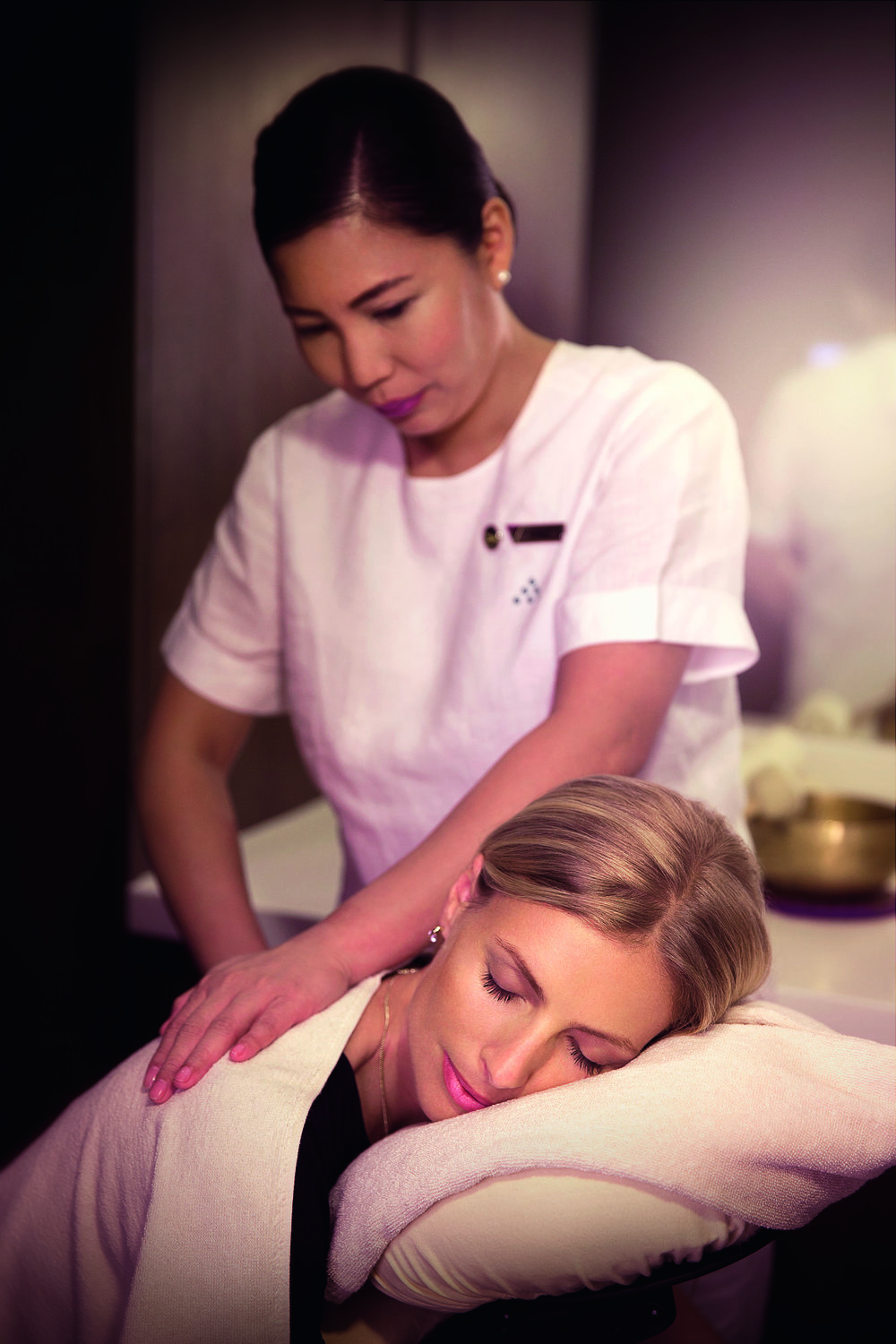 The Six Sense Spa experience in the First Class Lounge & Spa in Abu Dhabi. Image supplied.