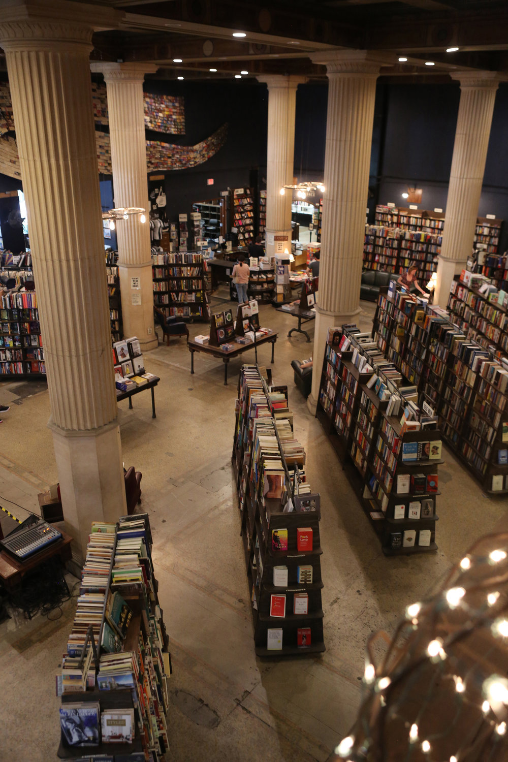 The Last Bookstore.