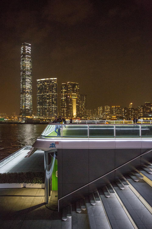 Ocean Terminal Deck.