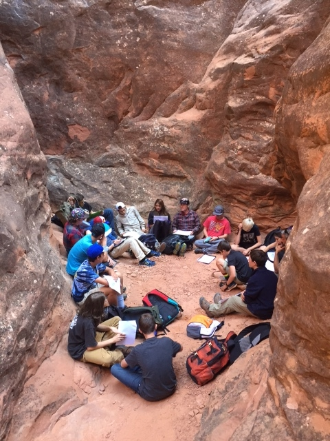 9th and 10th grade students in an Expedition course on the American West reflect on their field work in Moab.