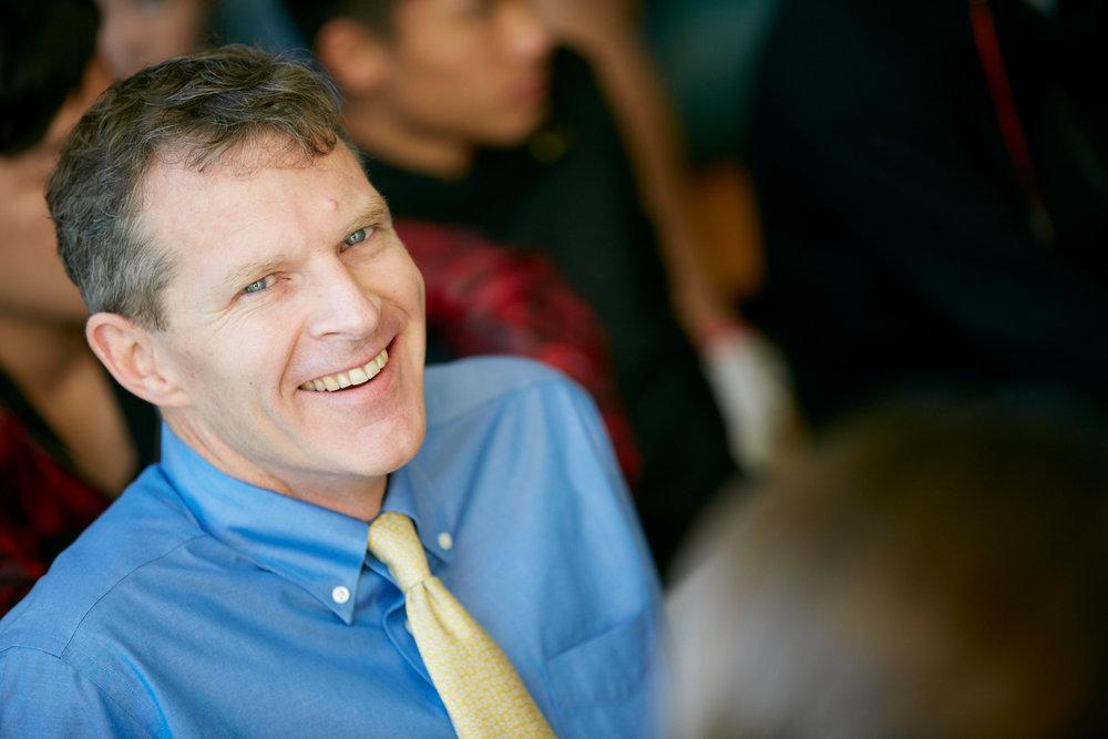 Watershed's New Head of School, Tim Breen