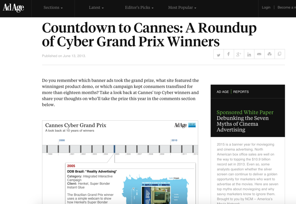 A roundup of Cyber Grand Prix Winners: Henkel