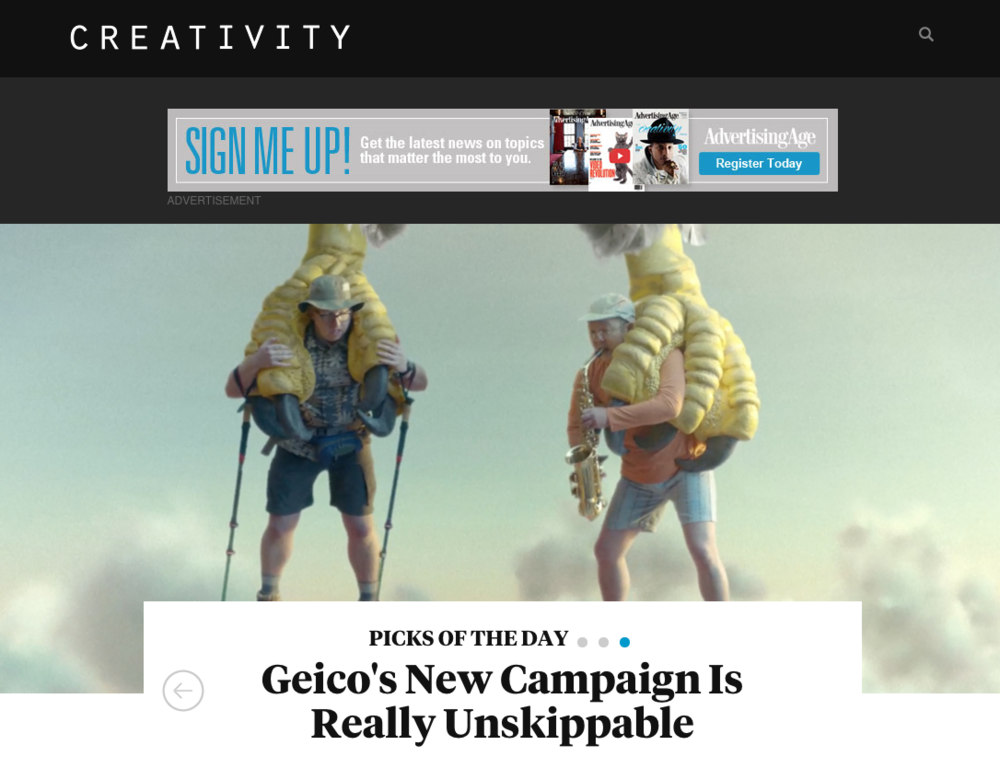 Geico's New Campaign Is Really Unskippable