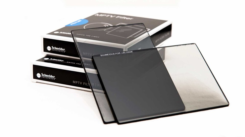 Image of a glass polarizing filter by Formatt-Hitech.