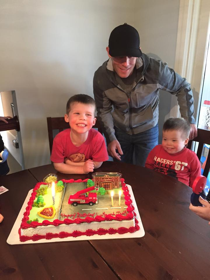 I can't believe that Luke is 4 and Jack is 2!!