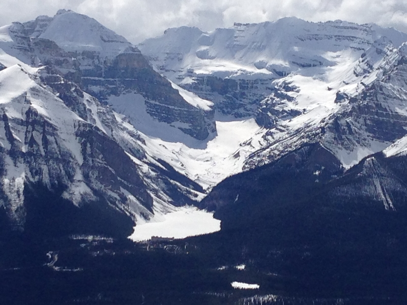 Lake Louise from top Paradise