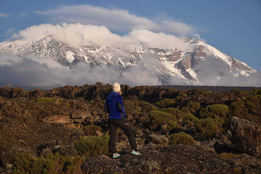 Day 2 view of Kilimanjaro