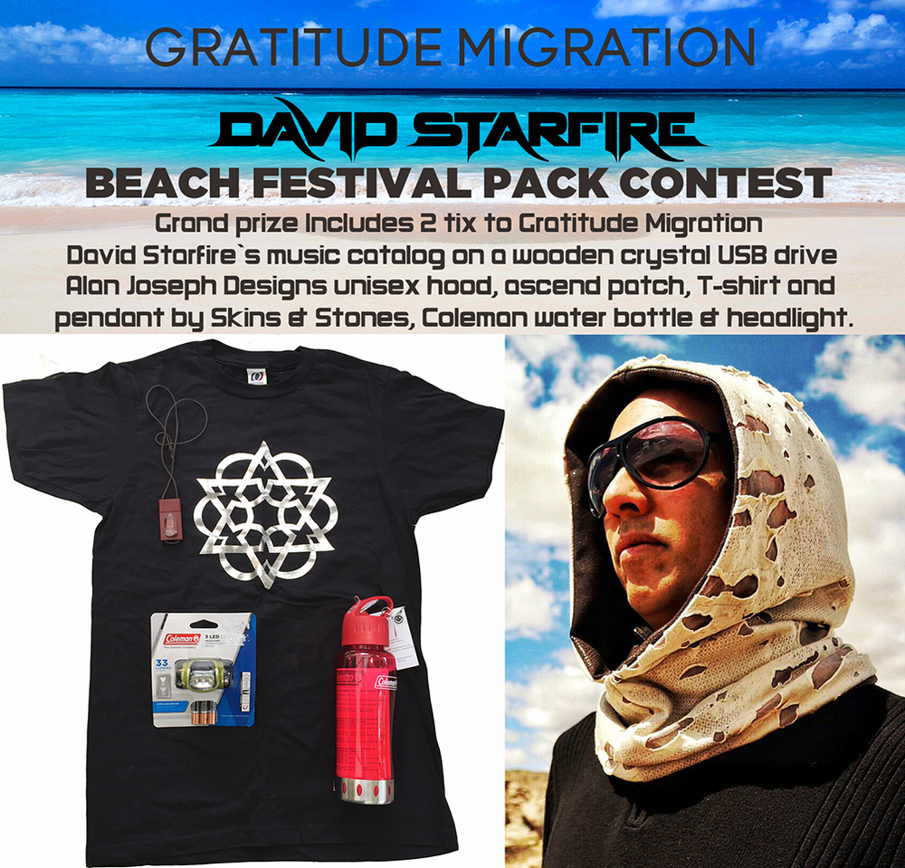 David Starfire Gratitude Migration contest
