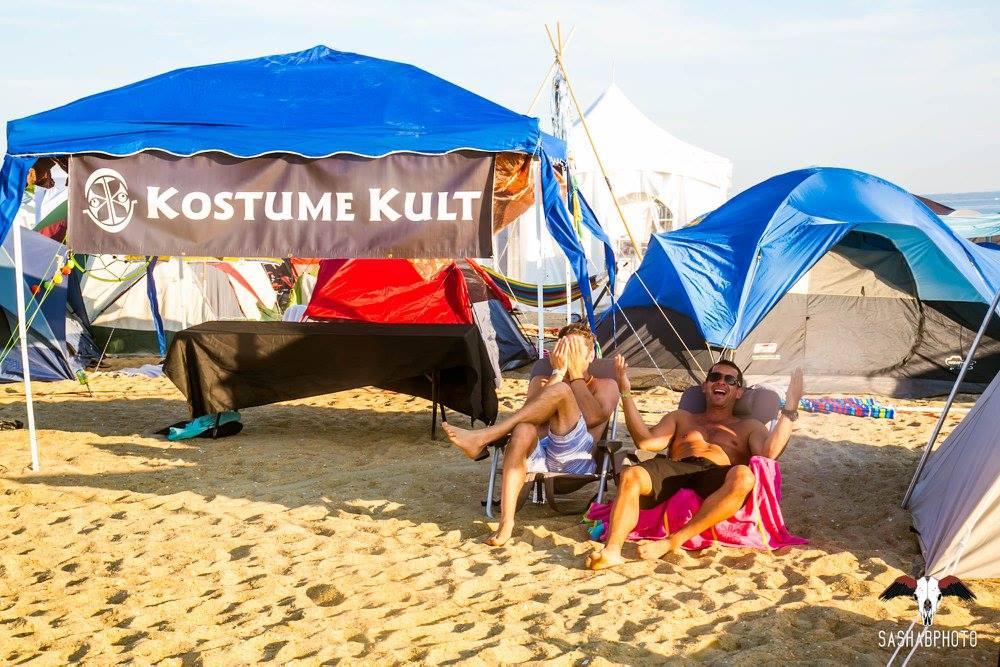 Kostume Kult at Gratitude Migration: Summer Dream 2016. Image by SashaBPhoto