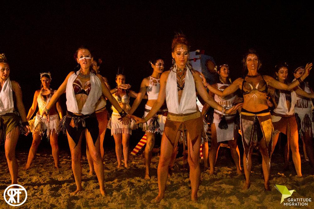 Setu Tribe at Gratitude Migration Summer Dream 2016. Photo by  Ross Figlerski .