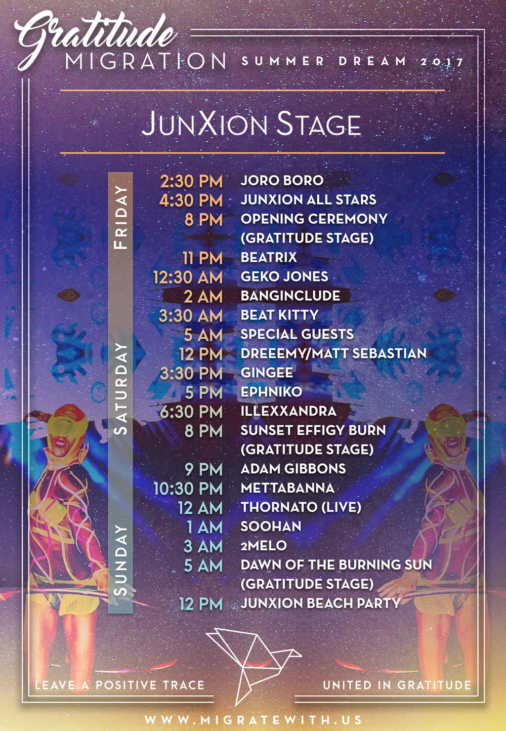 junxion-set-times