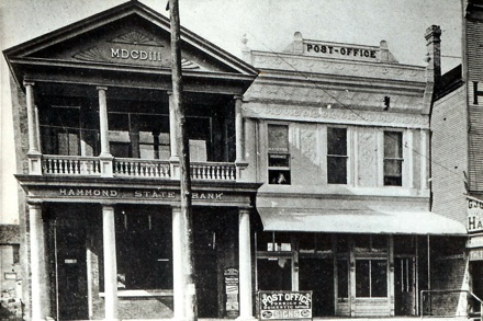 The old Fagan Drugstore (RIGHT)