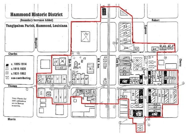 Hammond National Register District MAP.jpg