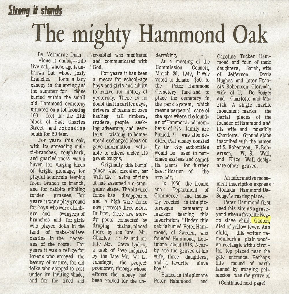 Through a 1969 Hammond Vindicator Article called